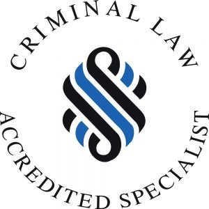 Criminal Law Accredited Specialst Badge