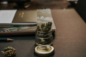 Posess Dangerous Drugs Icon | Cannabis in a Jar