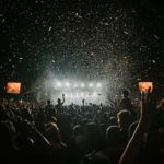 Possession of Cocaine Icon   Crowd at a Music Festival