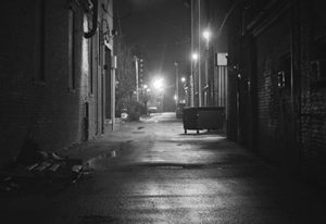 Sex Offences Icon | Dark Alley at Night